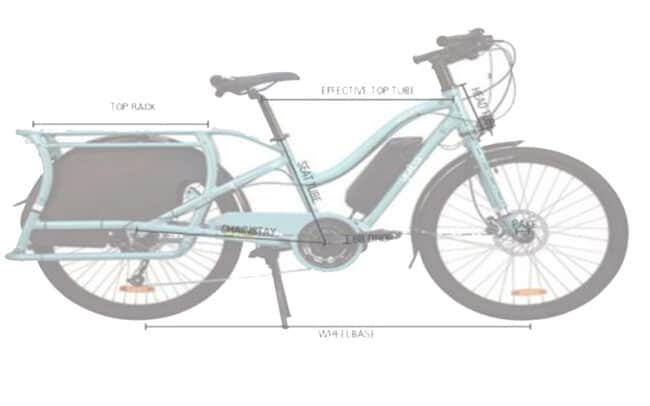 Yuba Electric Boda Boda Frame Geometry