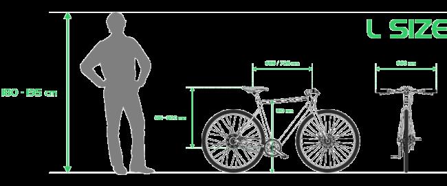 Desiknio Size Guide L
