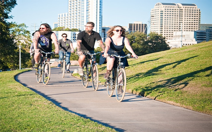 Top Five Bike-Friendly Cities