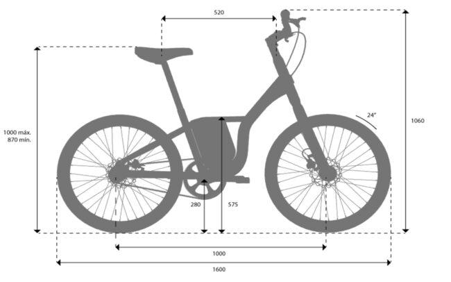 Carmela Bikes Frame Geometry