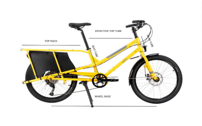 Yuba Kombi Product Frame Geometry